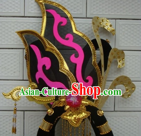 Traditional Chinese Stage Performance Dance Hat Headdress for Women