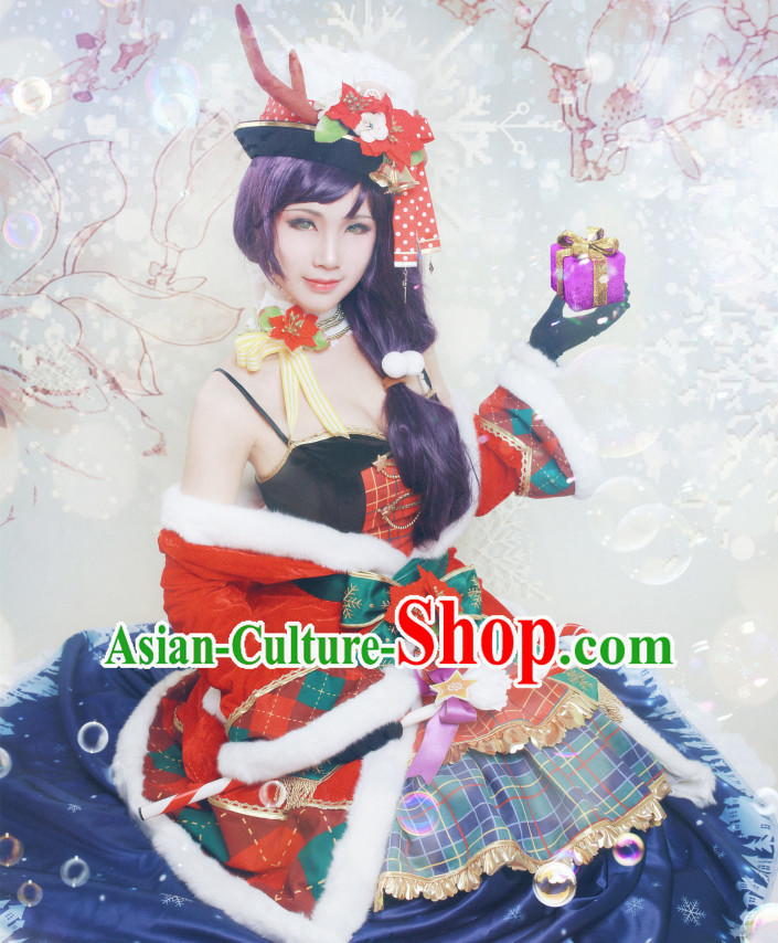 Chinese Stage Performance Cosplay Costume for Women
