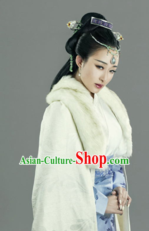 Asian Chinese Master Hanfu Dress Costume Clothing Oriental Dress Chinese Robes Kimono for Women Girls Adults Children