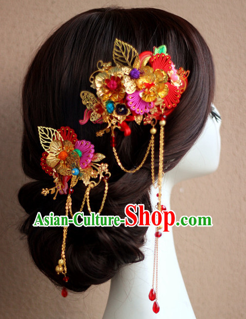 Handmade Classical Wedding Hair Accessories Fascinators Hair Sticks Hairpins Hair Bows Hair Pieces Bridal Hair Clips Prince Empress Queen Crown Coronet