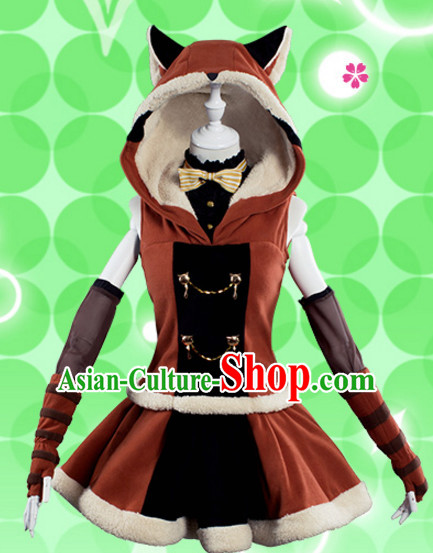 Chinese Superheroine Fairy Cosplay Costumes Complete Set for Women