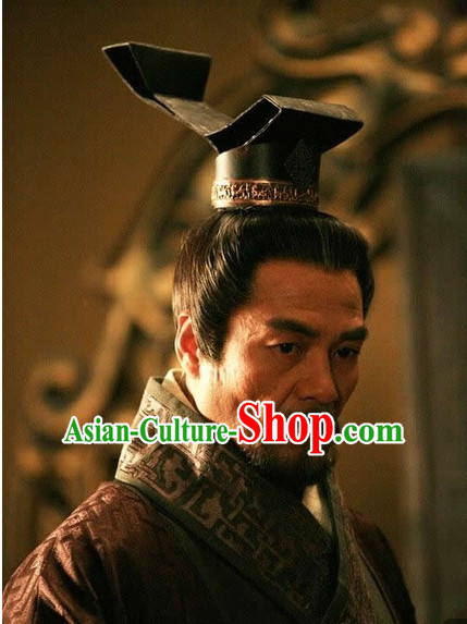 Chinese Qin Dynasty Male Hairstyles Chancellor Coronet for Men