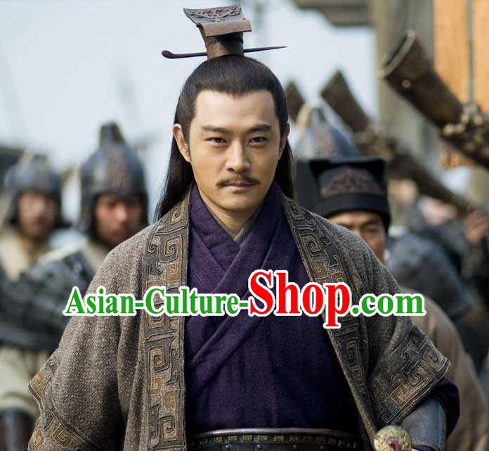 Three Kingdom Male Hairstyles Zhou Yu Coronet for Men
