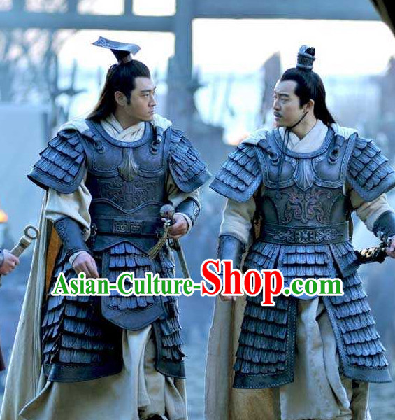 Asian Ancient Chinese Warrior Body Armor for Sale Complete Set for Men or Boys