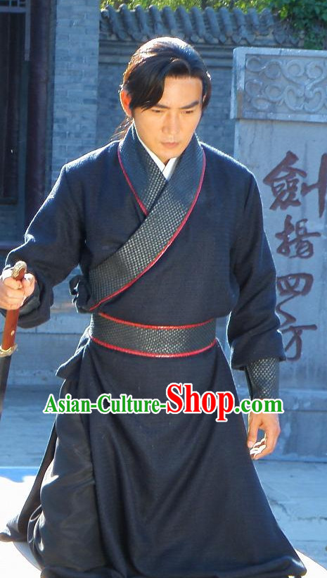 Ancient Chinese Traditional National Hanfu Dress Costume Clothes Ancient China Clothing for Men