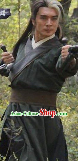Ancient Chinese Traditional National Hanfu Dress Costume Clothes Ancient China Clothing for Men or Boys