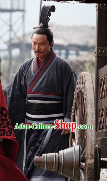 Ancient Chinese Style Hanfu Dress Authentic Clothes Culture Costume Han Dresses Traditional National Dress Clothing Complete Set for Men