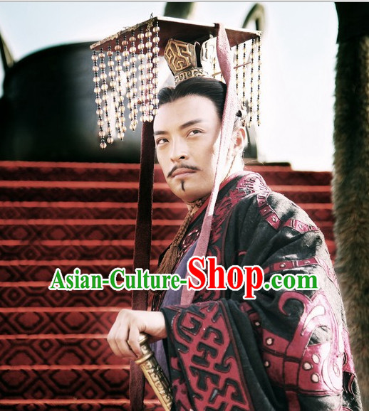 Ancient Chinese Han Dynasty Emperor Hat for Men