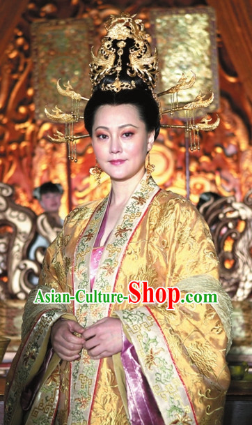 Traditional Chinese Queen Ancient Style Hair Accessories Complete Set