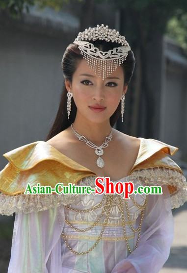 Chinese Traditional Style Princess Headpieces Hair Decorations for Women