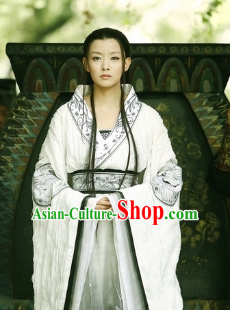 Traditional Chinese Ancient Fairy Costume Complete Set