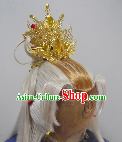 Ancient Chinese Imperial Royal Prince Hair Jewelry
