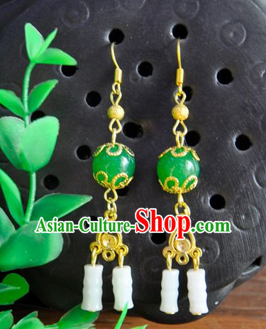 Handmade Chinese Traditional Ancient Imperial Empress Earrings
