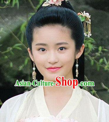 Handmade Chinese Traditional Ancient Imperial Empress Earrings and Hairpins