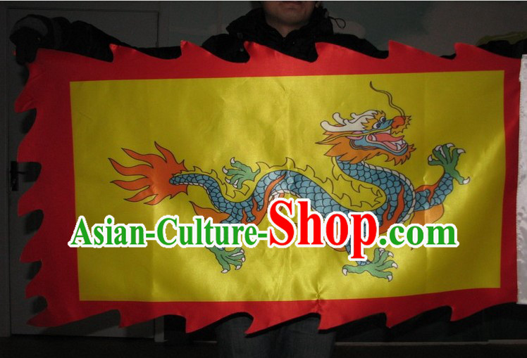Chinese Traditional Stage Performance Parade Dragon Banner Flag