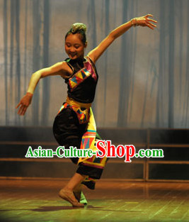 Chinese Traditional Ethnic Dancing Dress Dancewear Costumes Dancer Costumes Dance Costumes Chinese Dance Clothes Traditional Chinese Clothes Complete Set for Women