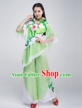 Chinese Stage Opening Dancing Dancewear Costumes Dancer Costumes Dance Costumes Chinese Dance Clothes Traditional Chinese Clothes Complete Set for Women Children