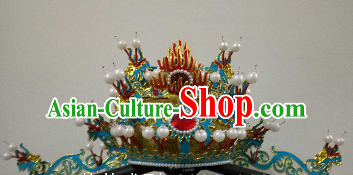 Chinese Traditional Opera Prime Minster Hat for Men