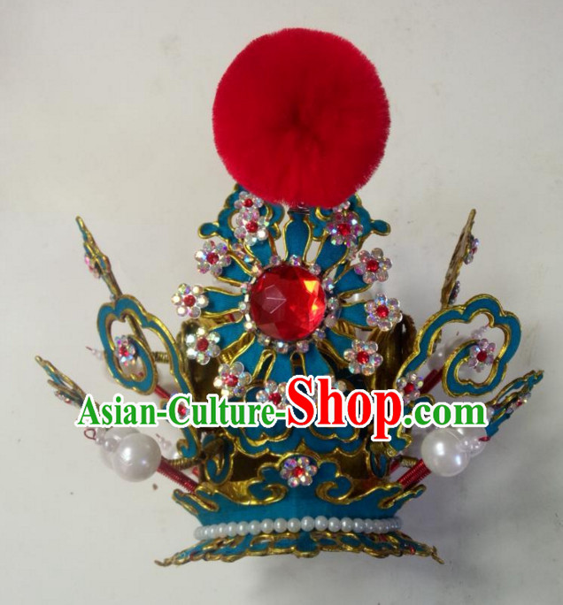 Chinese Traditional Opera Prince Hat for Men