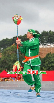 Chinese Dragon Dancer Uniform Clothes Dance Costumes Complete Set for Men or Women