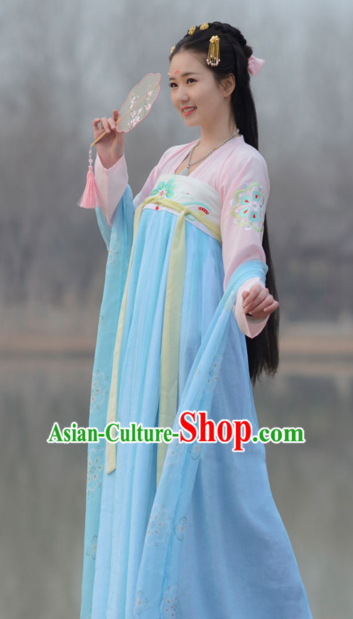 Top Chinese Hanfu Clothing Chinese Hanfu Costume Hanfu Dress Ancient Chinese Costumes Complete Set for Women Girls Children