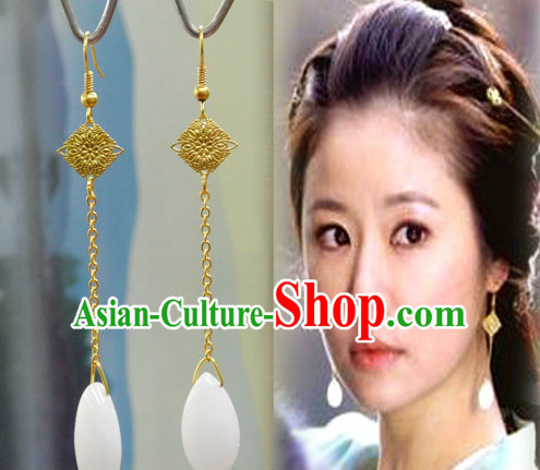 Ancient Chinese Style Imperial Palace Empress Queen Empress Earrings