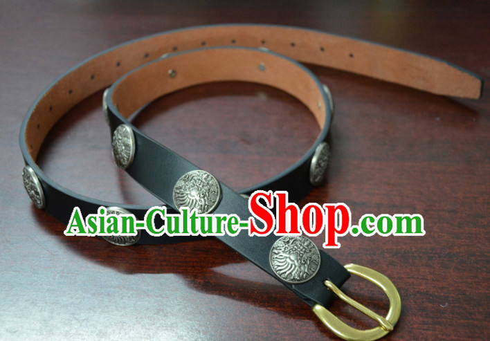 Ancient Chinese Hanfu Accessory Leather Belt