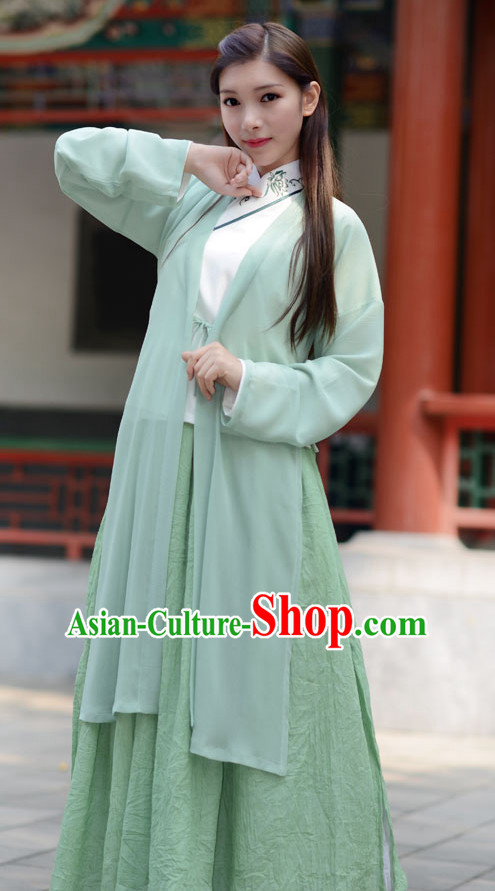 Ancient Chinese Lady Hanfu Garment Complete Set for Women