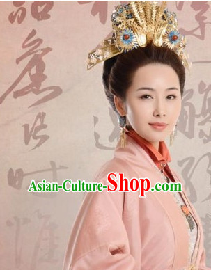 Chinese Ancient Ming Dynasty Empress Crown Headwear