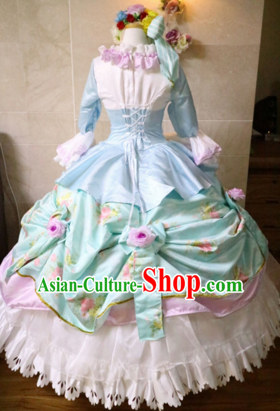 Custom Made Cosplay Costumes and Headdress Complete Set for Women or Girls