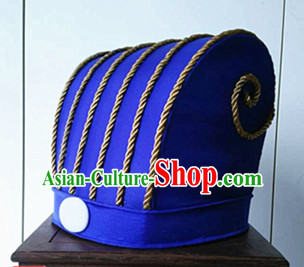 Zhuge Liang Handmade Traditional Hat Wise Men Headwear