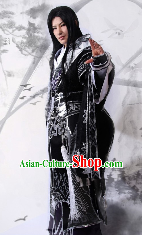 Chinese Costume Superhero Armor Cosplay Costumes China Traditional Armors Complete Set for Men Kids Adults