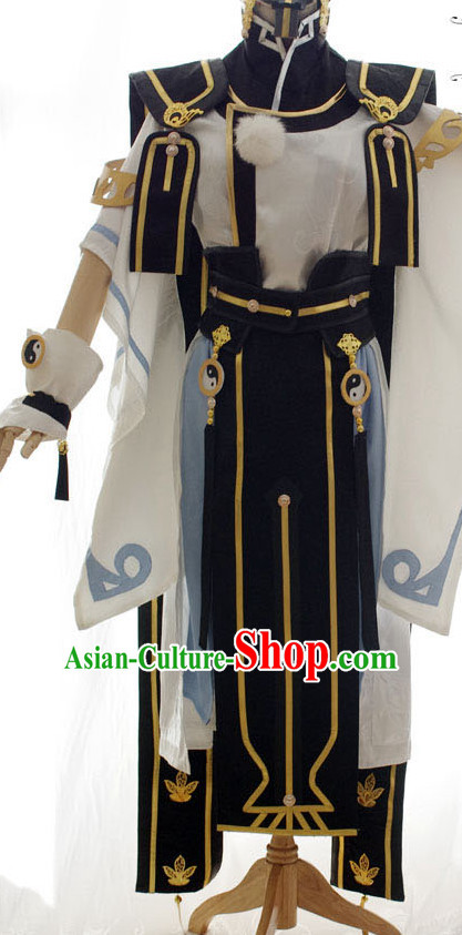 Top China Costume Cosplay Armor Archer Costume Avatar Costumes Wonderflex Knight Armorsuit Leather Metal Fantasy Armoury and Hair Decortaions Complete Set