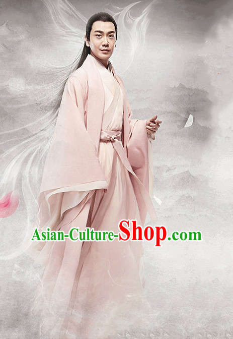 Ancient Chinese Kung Fu Master Robe for Men