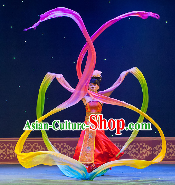 12 Meters Imitation Silk Long Dancing Ribbon