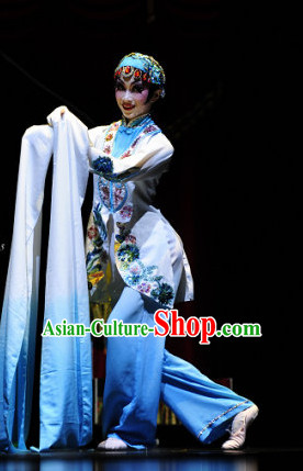 Long Sleeves Chinese Classical Dance Costume Folk Dancing Costumes Traditional Chinese Dance Costumes Asian Dance Costumes Complete Set for Women