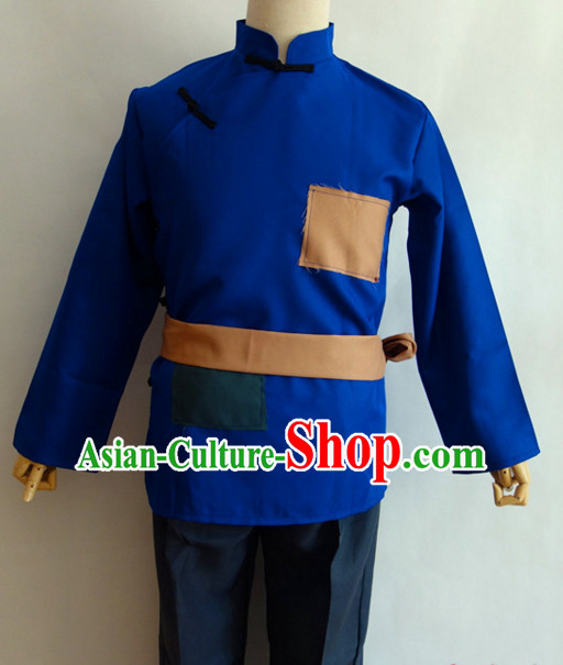 Old Society Poor People Costumes Clothing for Men Boys