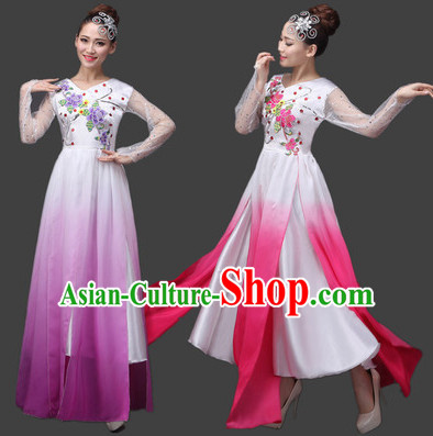 Color Changing Gradient Dance Skirt for Women and Girls