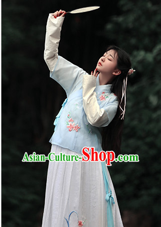 Chinese Traditional Dress Hanfu Costume China Kimono Robe Ancient Chinese Clothing National Costumes Gown Wear