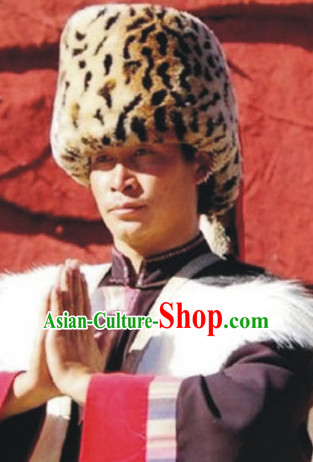 Chinese Traditional Minority Hmong Folk Ethnic Hat for Men