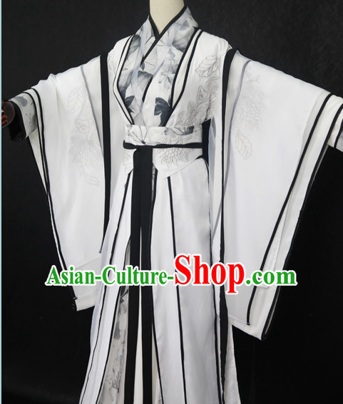 Traditional Chinese Dress Asian Clothing National Hanfu Costume Han China Style Costumes Robe Attire Ancient Dynasty Dresses Complete Set for Men