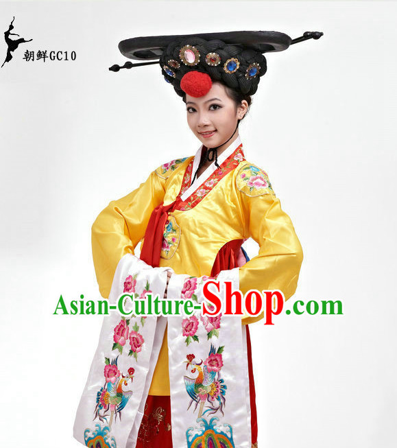 Traditional Korean Ethnic Dance Costumes for Girls