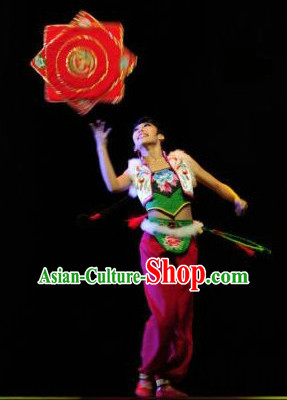 Top Traditional Chinese Handkerchief Dance Costumes for Girls