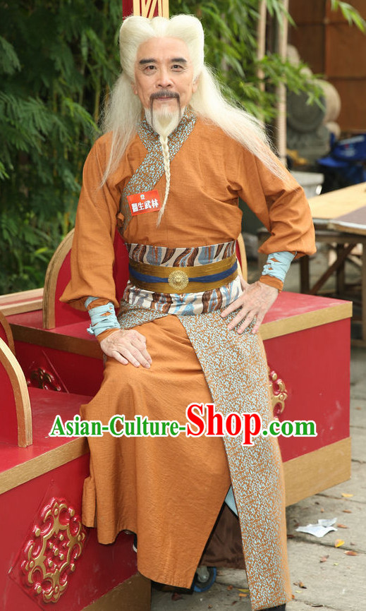 Ancient Chinese Swordmen Costumes Hanfu Han Fu Clothing Complete Set