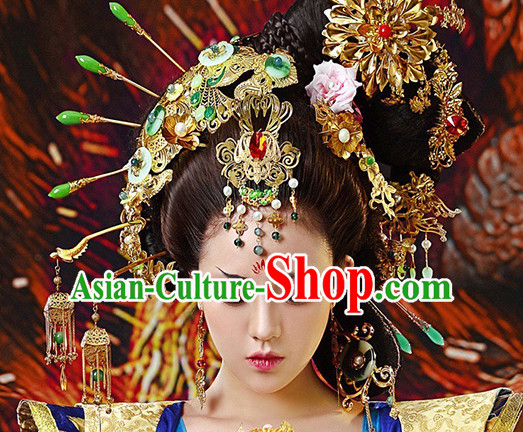 Handmade Chinese Empress Hair Accessories Complete Set for Women