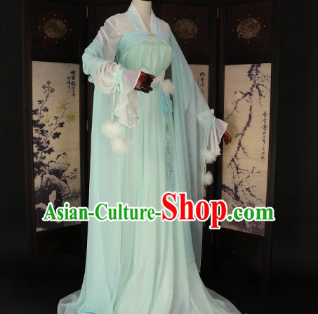 Ancient Chinese Fairy Clothing Traditional Chinese Princess Clothes Dresses Tangzhuang Queen Han Fu Complete Set for Women