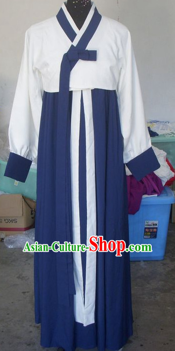 Chinese Traditional Korean Hanbok Style Clothing