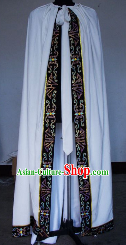Chinese Traditional Ancient Embroidered Mantle Cape