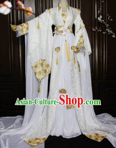 Chinese Women Traditional Royal Dress Cheongsam Ancient Chinese Clothing Cultural Robes Complete Set