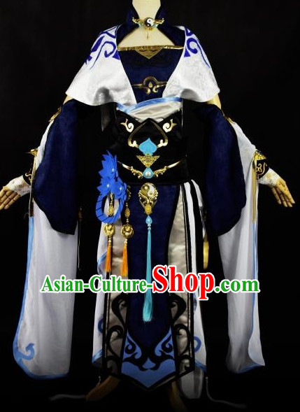 Chinese Traditional Hanfu Cosplay Princess Costume Chinese Cosplay Hanfu Halloween Costume Party Costume Fancy Dress
